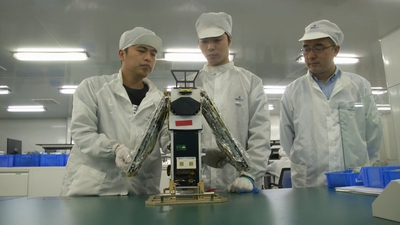 Chinese start-ups have big plans with little rockets