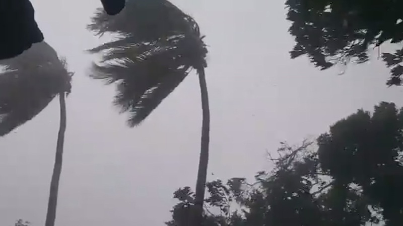 Cyclone leaves trail of destruction in Mozambique