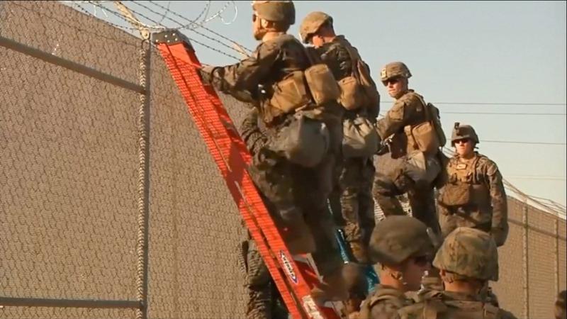 Pentagon set to send cooks to Mexico border