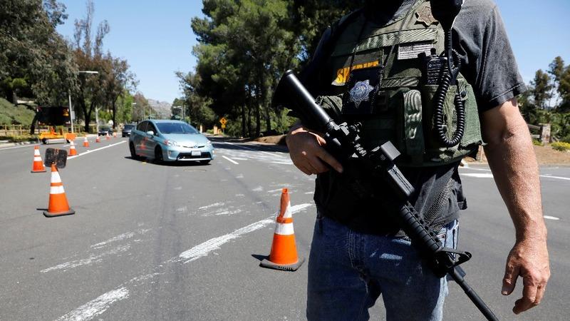Police eye motive in California synagogue attack