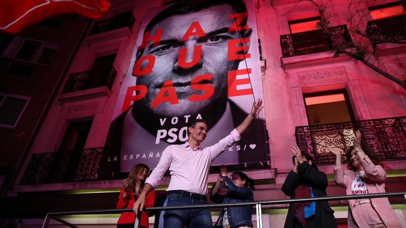 Spain's Socialists claim election victory