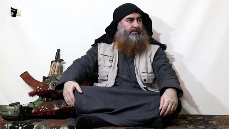 ISIS video appears to show al-Baghdadi still alive
