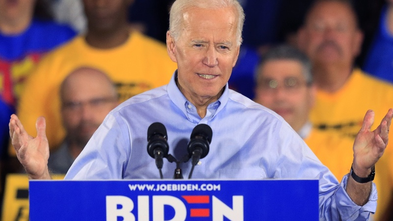 'Truth over lies.' Biden kicks off 2020 campaign