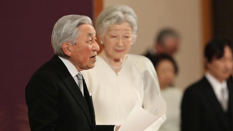 Emperor Akihito thanks Japanese in farewell
