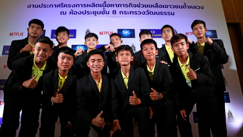 Netflix signs deal for Thai cave rescue series
