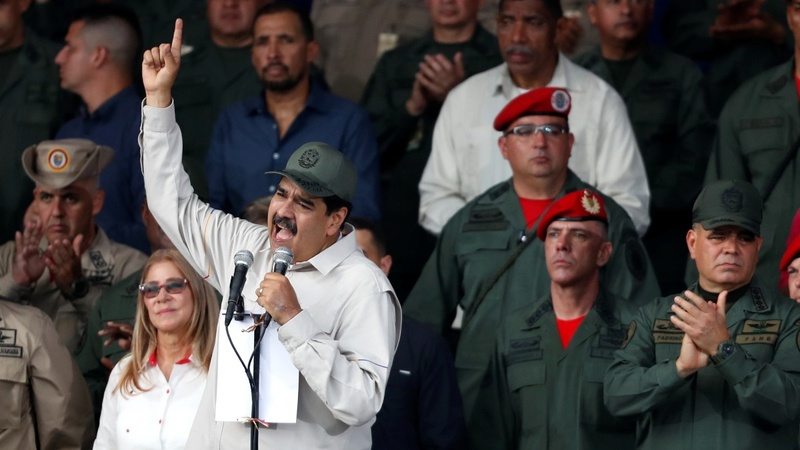 Maduro clings to power, frustrating Washington