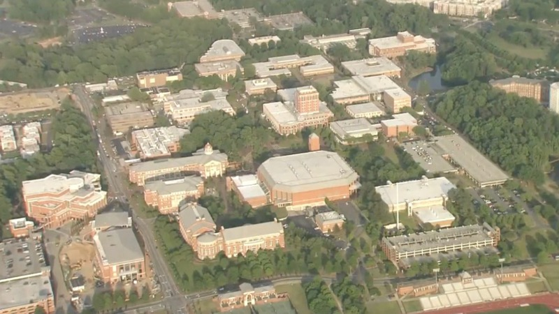 At least two dead in shooting at UNC Charlotte