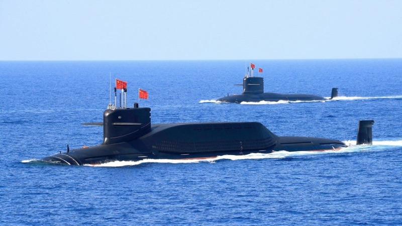 China's furtive underwater missiles deter U.S.