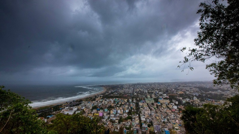 Cyclone churns towards Indian northeast coast