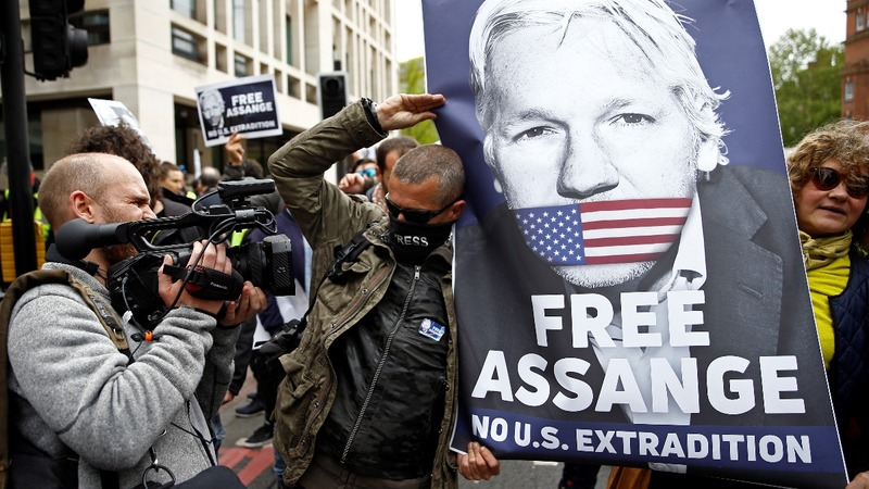 Assange rejects extradition to United States