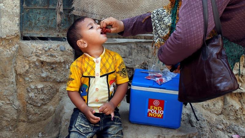 Rage and rumors hamper Pakistan's war on polio
