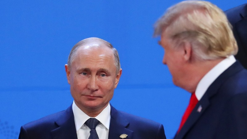Trump expounds on his 'great relationship' with Russia