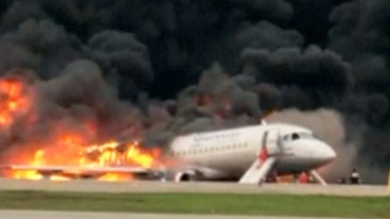 At least 41 killed in fiery Russian plane crash