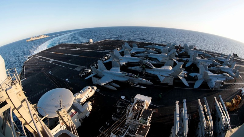 U S  deploying carrier to deter Iran: Bolton - Reuters TV