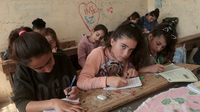 Syrian Kurds reshape region with school