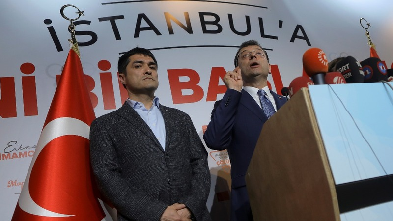 Re-run ordered in election lost by Erdogan's Party