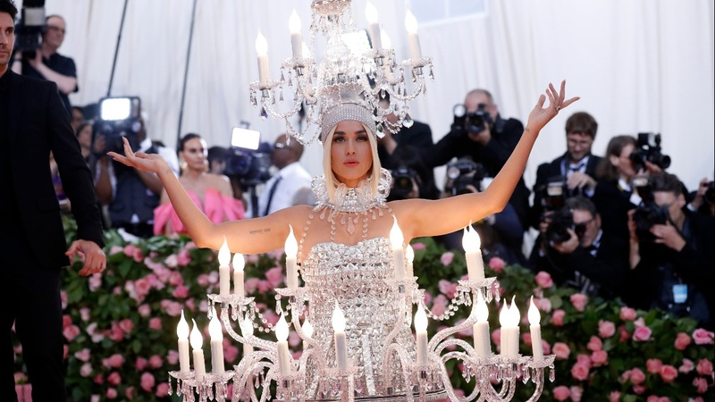 Celebrities take on 'campy' looks at Met Gala