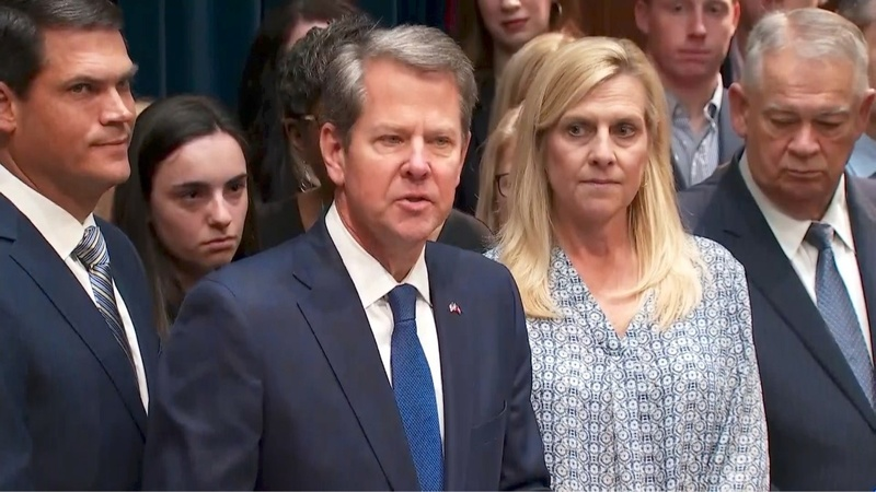 GA governor signs abortion law, joins U.S. movement