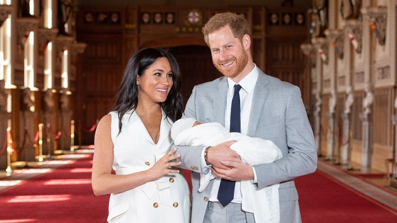 Prince Harry and Meghan reveal baby son's name
