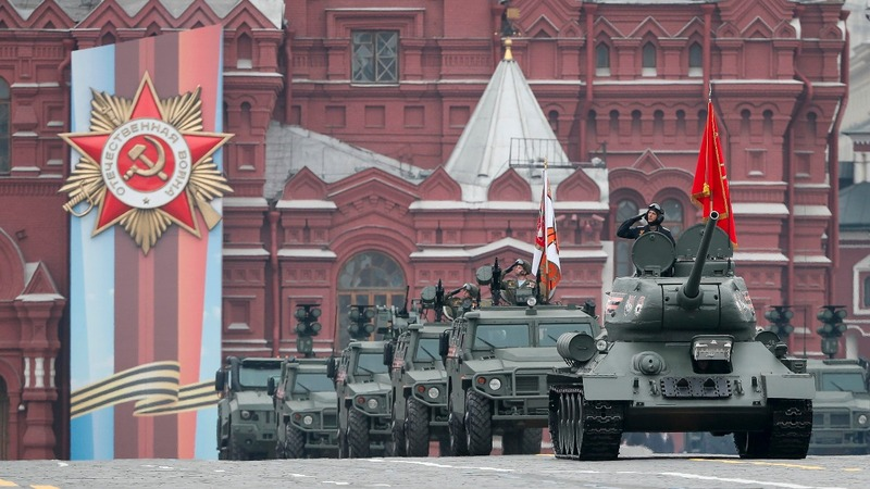 INSIGHT: Russia's show of might at Red Square parade