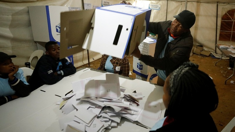 """I want change"": South Africa awaits vote results"
