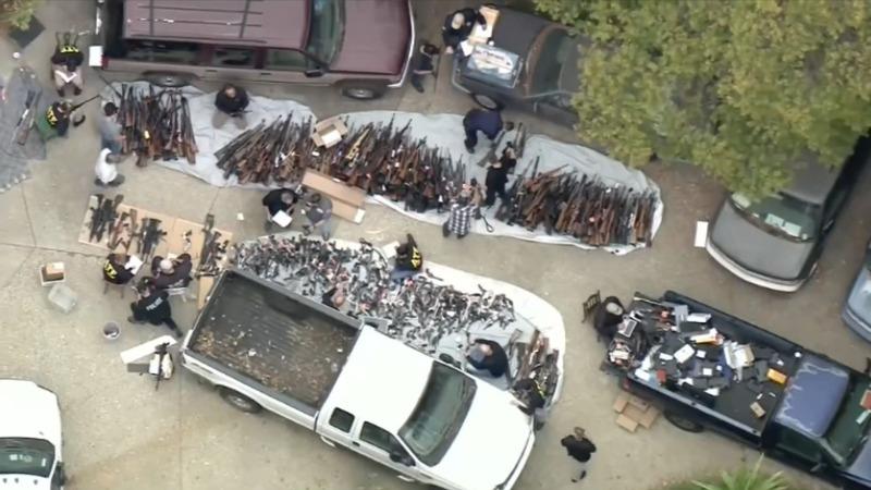 Mystery surrounds massive Bel Air gun bust