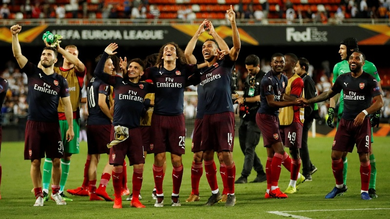 English clubs sweep Europe's soccer finals