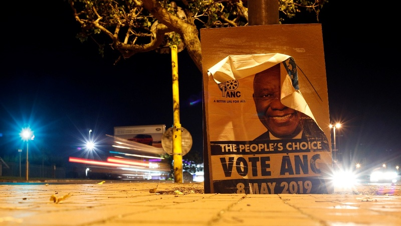 South Africa's ANC heads for worst-ever election