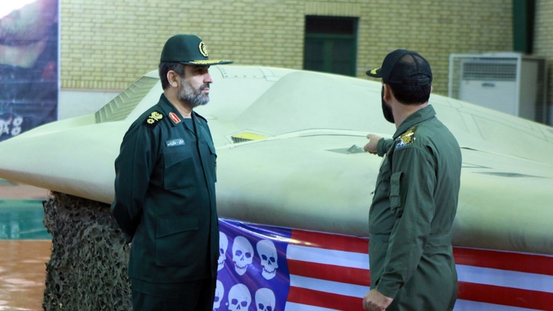 Iran commander: U.S. forces a target, not a threat