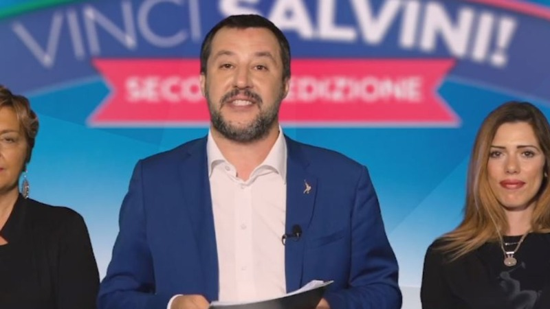 Italy's Salvini launches electoral game show