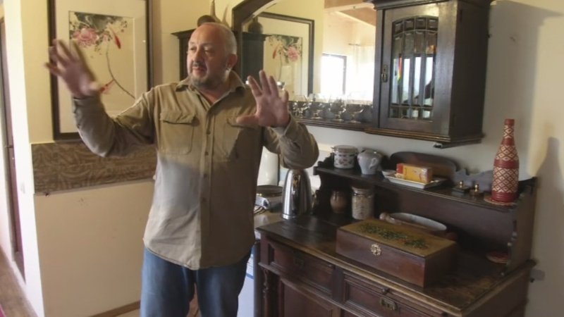 Georgia's ex-president swaps politics for Airbnb