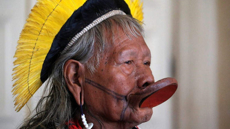 Brazil's indigenous chief's bid to save the Amazon