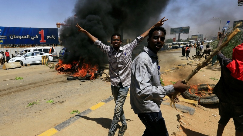 "Four die in Sudan protests as military forbids ""chaos"""
