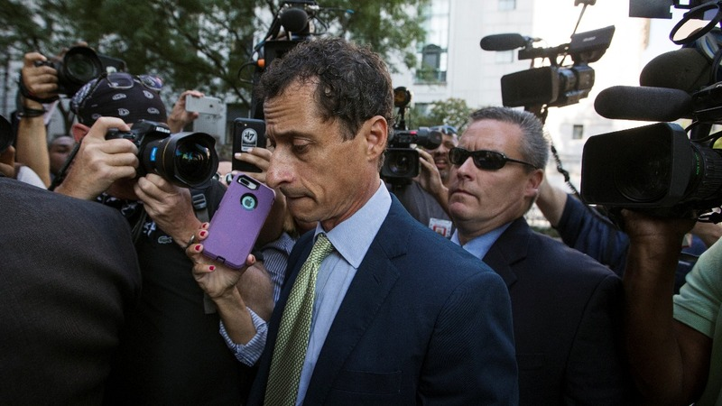 Disgraced Weiner released from halfway house