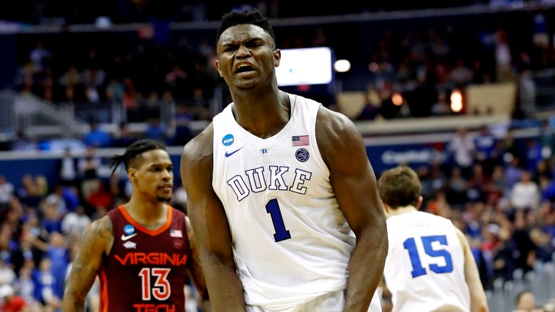 NBA teams vie for a chance at Zion