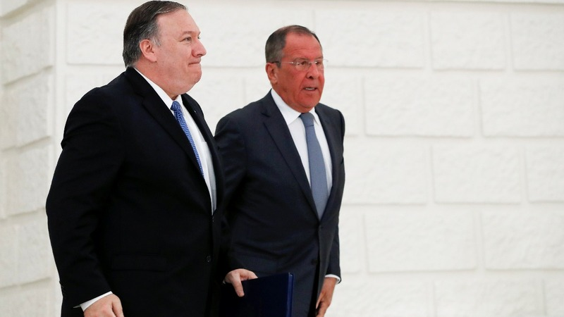 Pompeo warns Russia to stay away from 2020 election