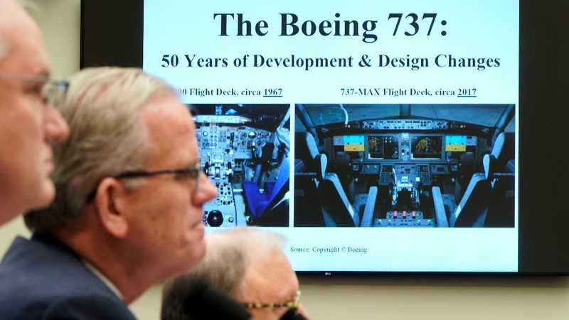 FAA in the hot seat on Boeing at House hearing