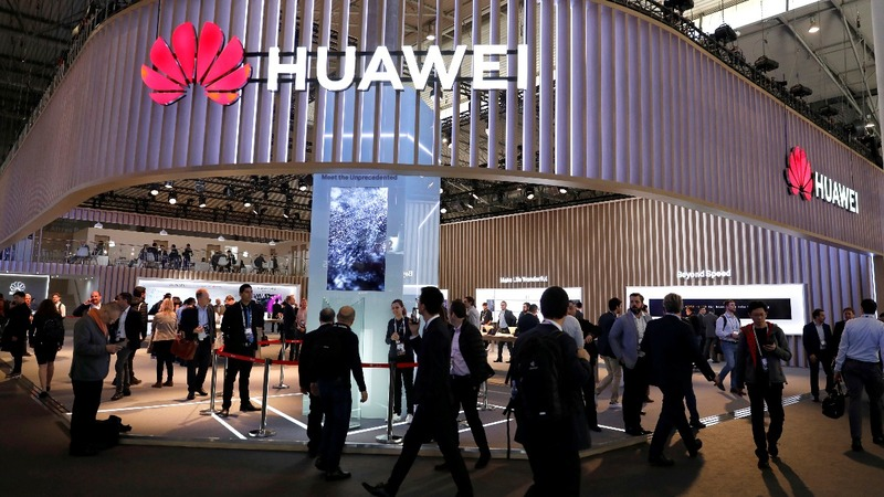 U.S. blacklists China's Huawei