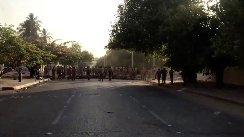 Sudan clears protesters with gunfire, talks cease