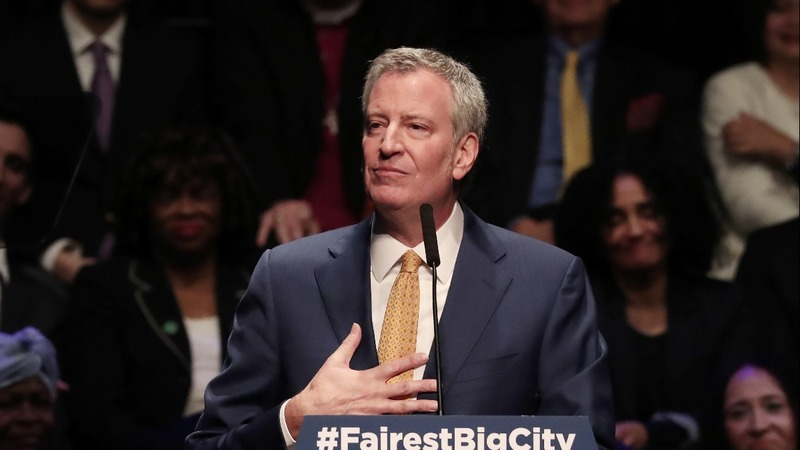 NYC Mayor De Blasio announces 2020 run