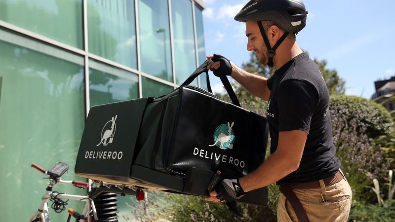 Amazon funds Deliveroo, takes on Uber Eats