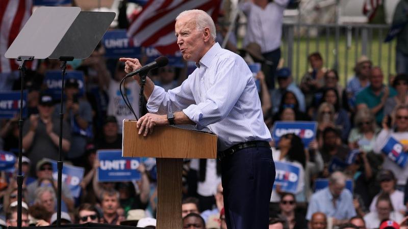 'Let's stop fighting and start fixing': Biden