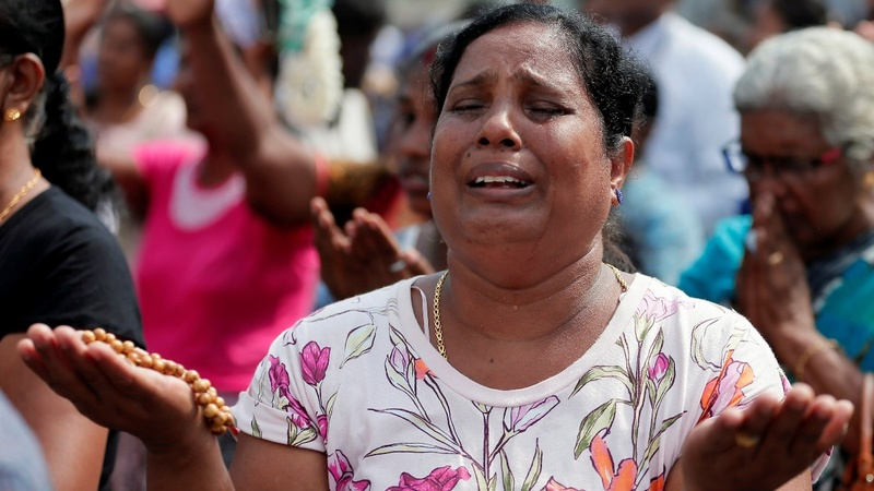 Sri Lanka Catholics mark one month since bombings