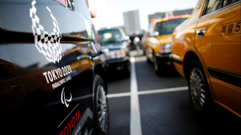 Japan Taxi has become a pricey Olympic symbol
