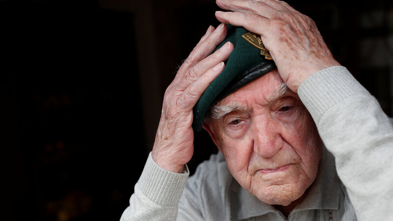 D-Day veteran reflects on brutality of war
