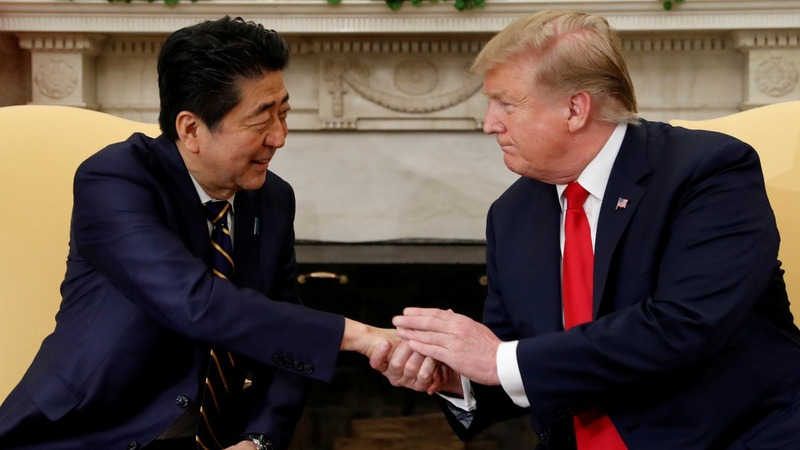 Japan set to woo Trump to avoid trade battle