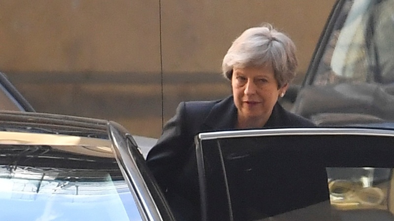 UK's May in peril over Brexit on EU election day