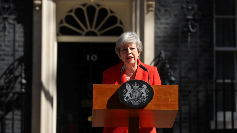 VERBATIM: Theresa May announces her resignation
