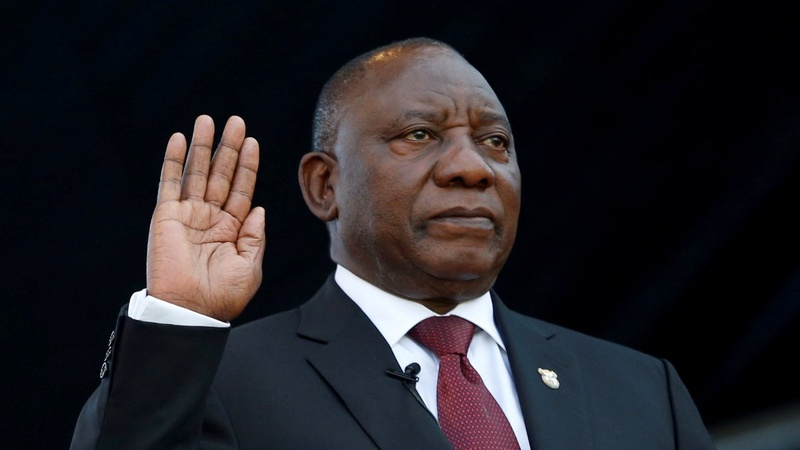 South Africa inaugurates new president Ramaphosa