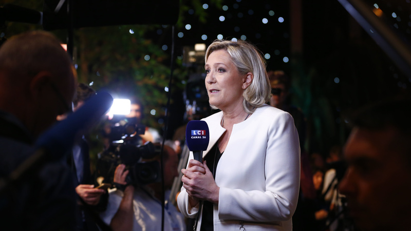 Le Pen leads nationalist surge in EU vote